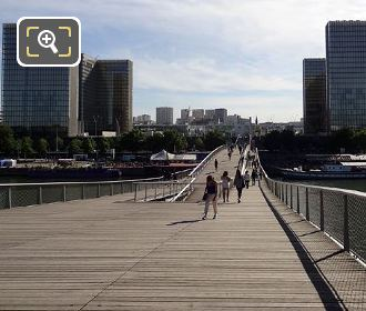 View Over Passerelle Simone De Beauvoir
