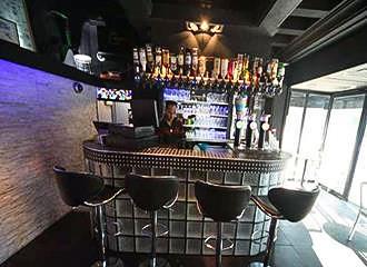 Peace and Love Hostel bar