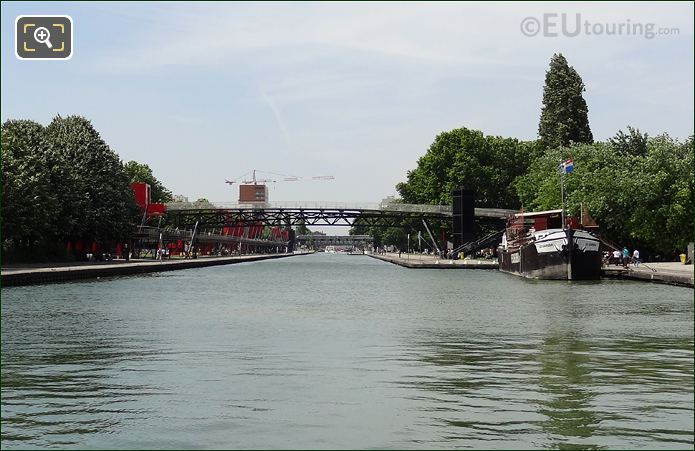 Canal de l'Ourcq And The Peniche Cinema