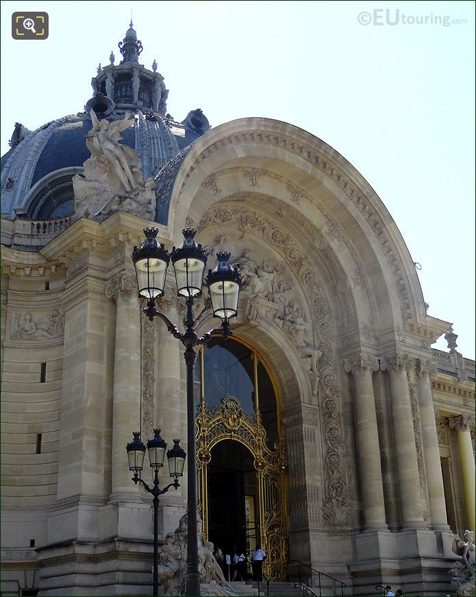 Main Entrance To Petit Palais