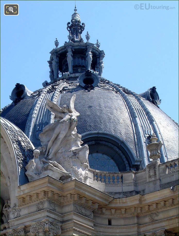 The Entrance Rotunda At Petit Palais