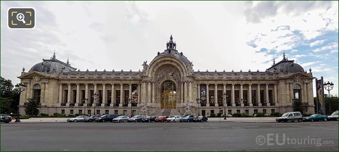 Whole Western Facade Of Petit Palais
