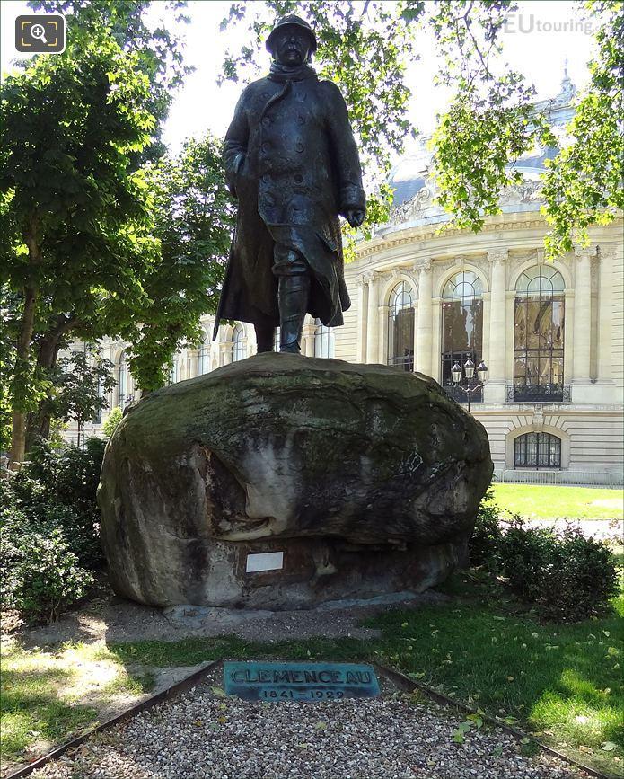 Georges Benjamin Clemenceau Statue At Petit Palais