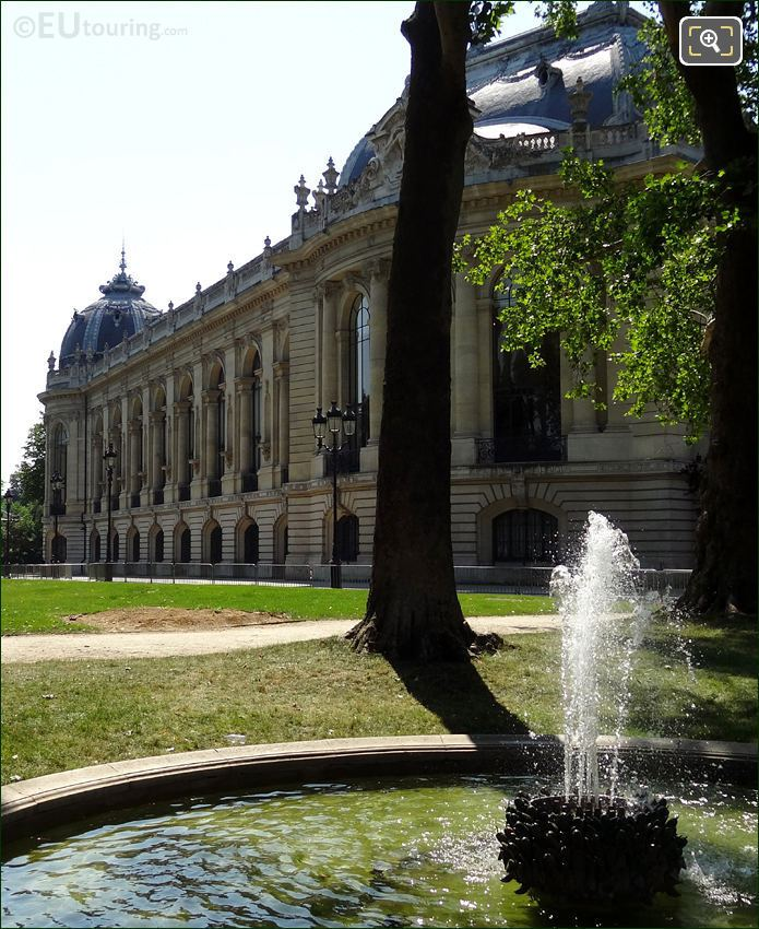 Water Fountain In The Petit Palais Gardens