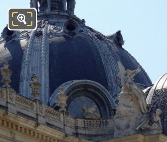 The Dome Roof On Top Of The Petit Palais