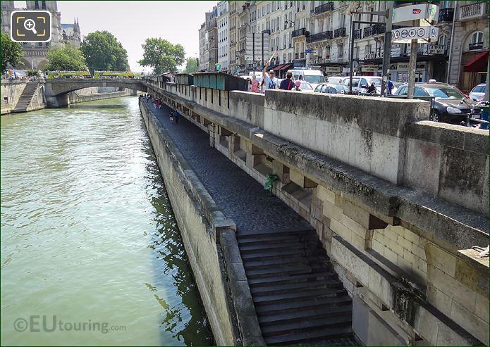 Walkway Under The Petit Pont
