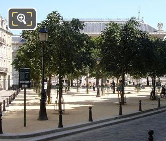 Place Dauphine Cental Area