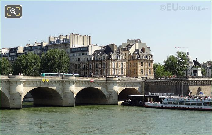 Place Dauphine And The Pont Neuf