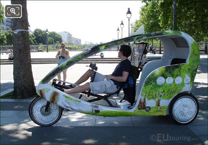 Place De La Bastille Rickshaw