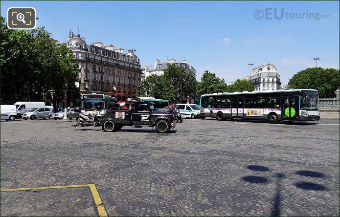 Traffic On Bastille Roundabout