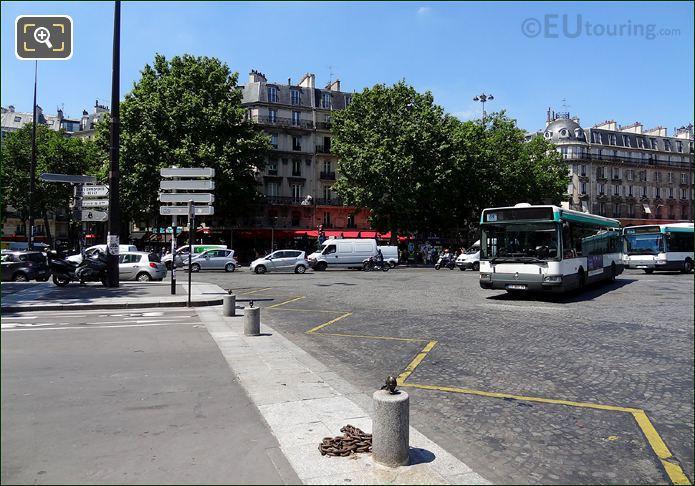Place De La Bastille Busses