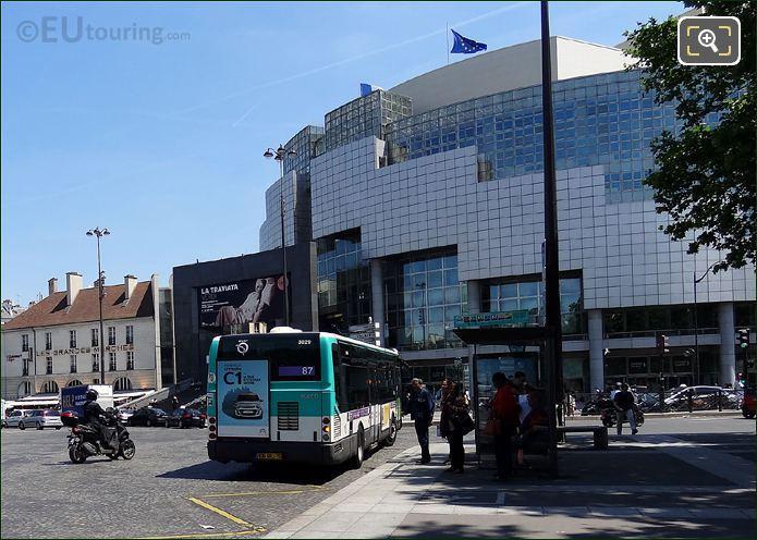 Opera Bastille At Place De La Bastille
