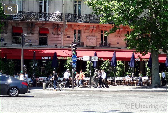Place De La Bastille Cafe Francais
