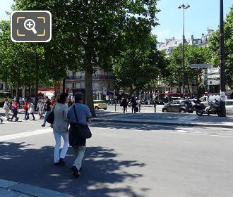 Place De La Bastille And Boulevard Bourdonone