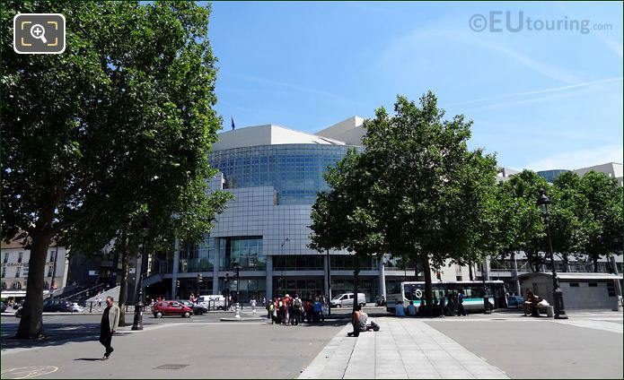 Place De La Bastille With Opera Bastille