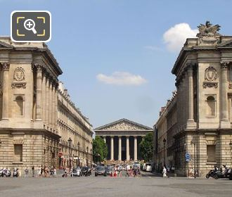Rue Royale At Place De La Concorde