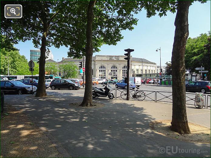 Oldest Train Station Paris At Place Denfert-Rochereau