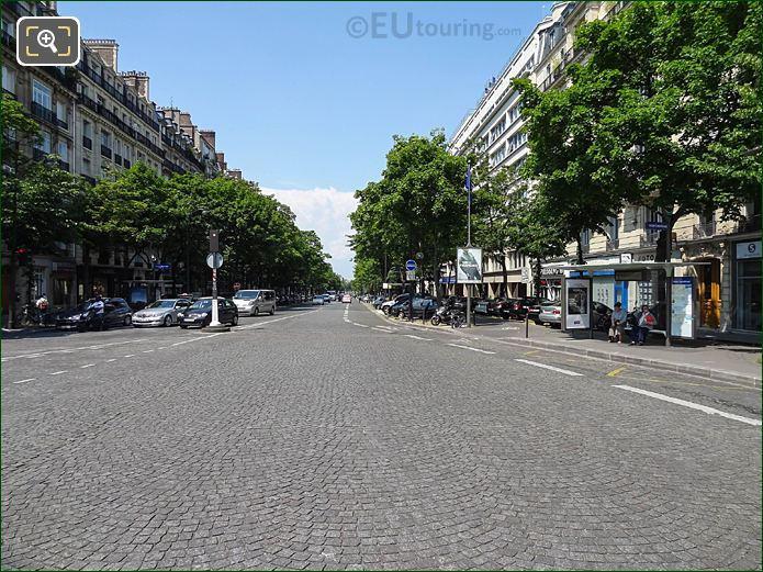 Cobbled Rue Victor Considerant Place Denfert-Rochereau