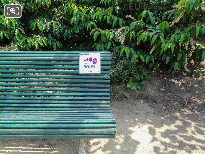 WiFi Hotspots Sign Place Denfert-Rochereau