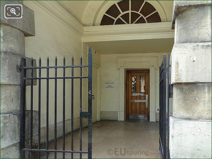 Entrance For West Barriere d'Enfer Building