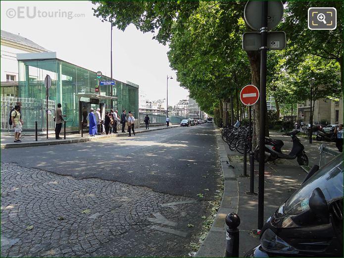 Avenue Rene Coty Place Denfert-Rochereau