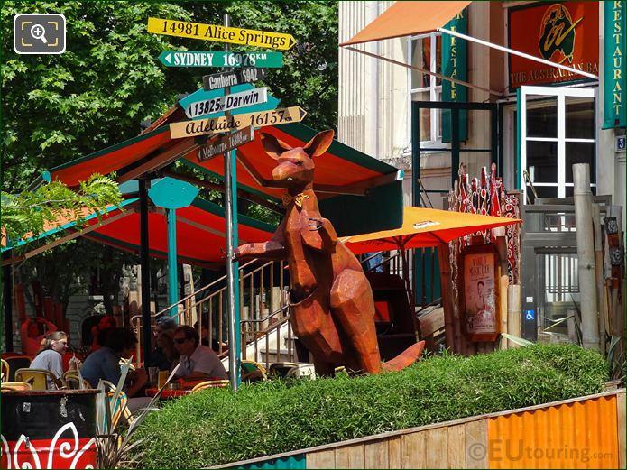 Kangaroo Australian Bar Restaurant Place Denfert-Rochereau