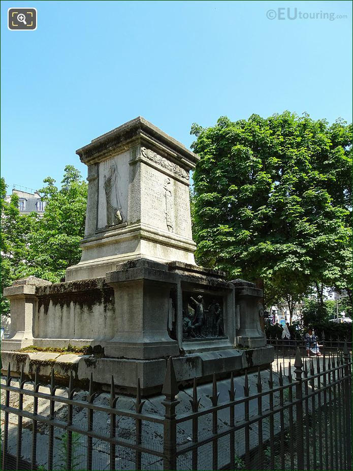 Square Jacques Antoine Monument By L Morice