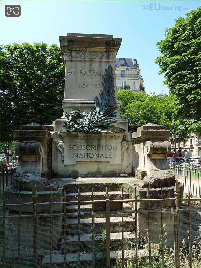 Raspail Monument In Square Jacques Antoine