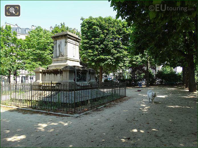 Square Jacques Antoine In Paris
