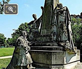 Ludovic Trarieux Monument In Square Claude Nicolas Ledoux