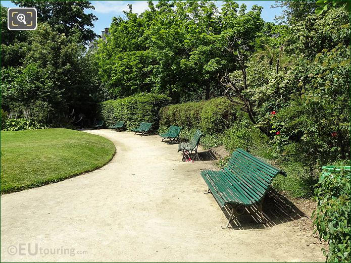 Park Benches In Square Claude Nicolas Ledoux