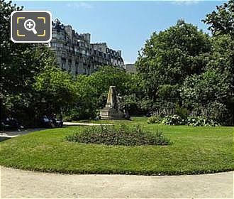 East Side Square Claude Nicolas Ledoux In Place Denfert-Rochereau