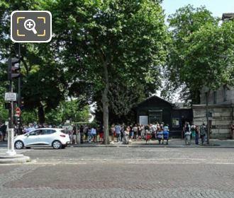 Paris Catacombes Entrance Place Denfert-Rochereau