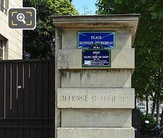 SW Corner Of East Barriere d'Enfer Building