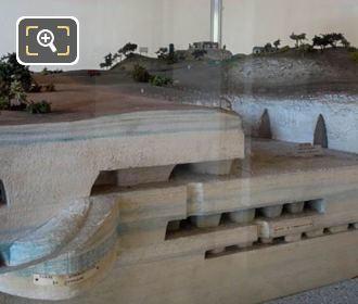 Scaled Model Paris City Underground Quarries