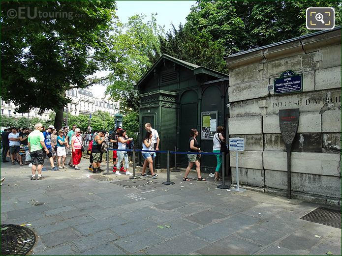 Paris Catacombes Entrance Avenue Du Colonel Henri Rol-Tanguy
