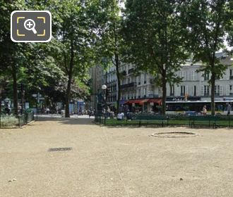 West Side Garden Square De l'Abbe Migne