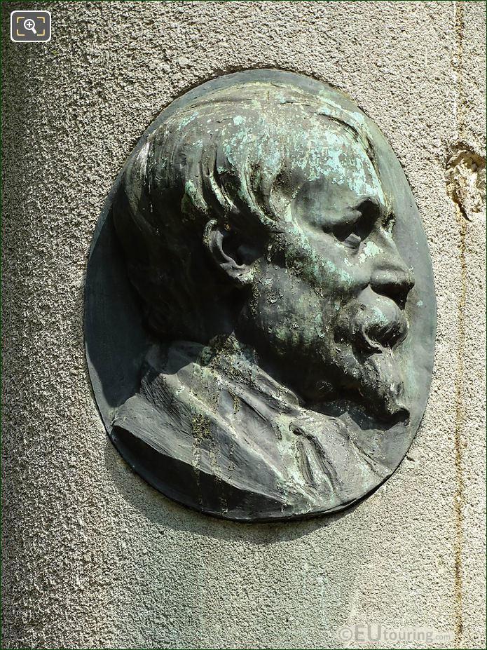 Nicolas-Toussaint Charlet Medallion Square De l'Abbe Migne