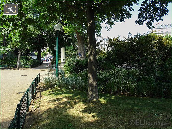 Square De l'Abbe Migne In Place Denfert-Rochereau