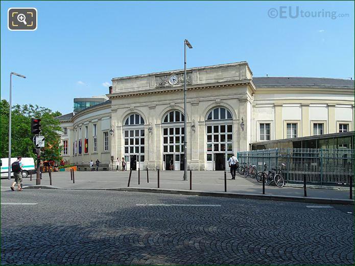Curved West Facade Gare Denfert-Rochereau