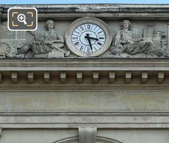 Top Pediment Entrance Gare Denfert-Rochereau