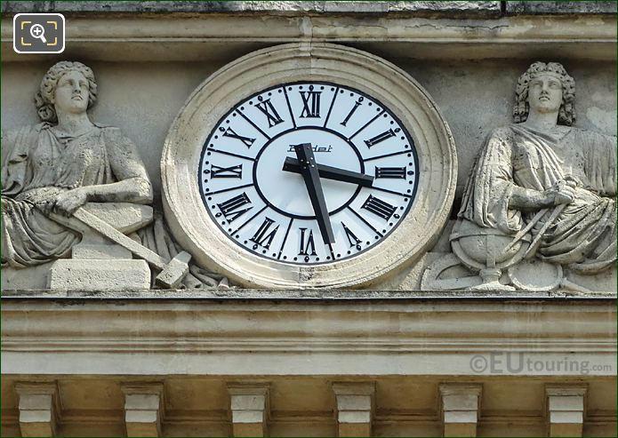 Historical Clock Gare Denfert-Rochereau