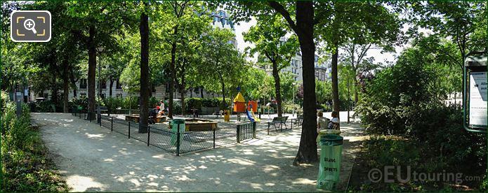 Panoramic Of Square Georges Lamarque