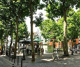 Paris Place des Abbesses