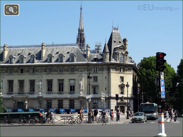 Photo Of Place Saint Michel Square In Paris