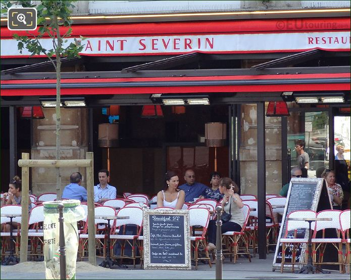 Saint Severin Restaurant Paris