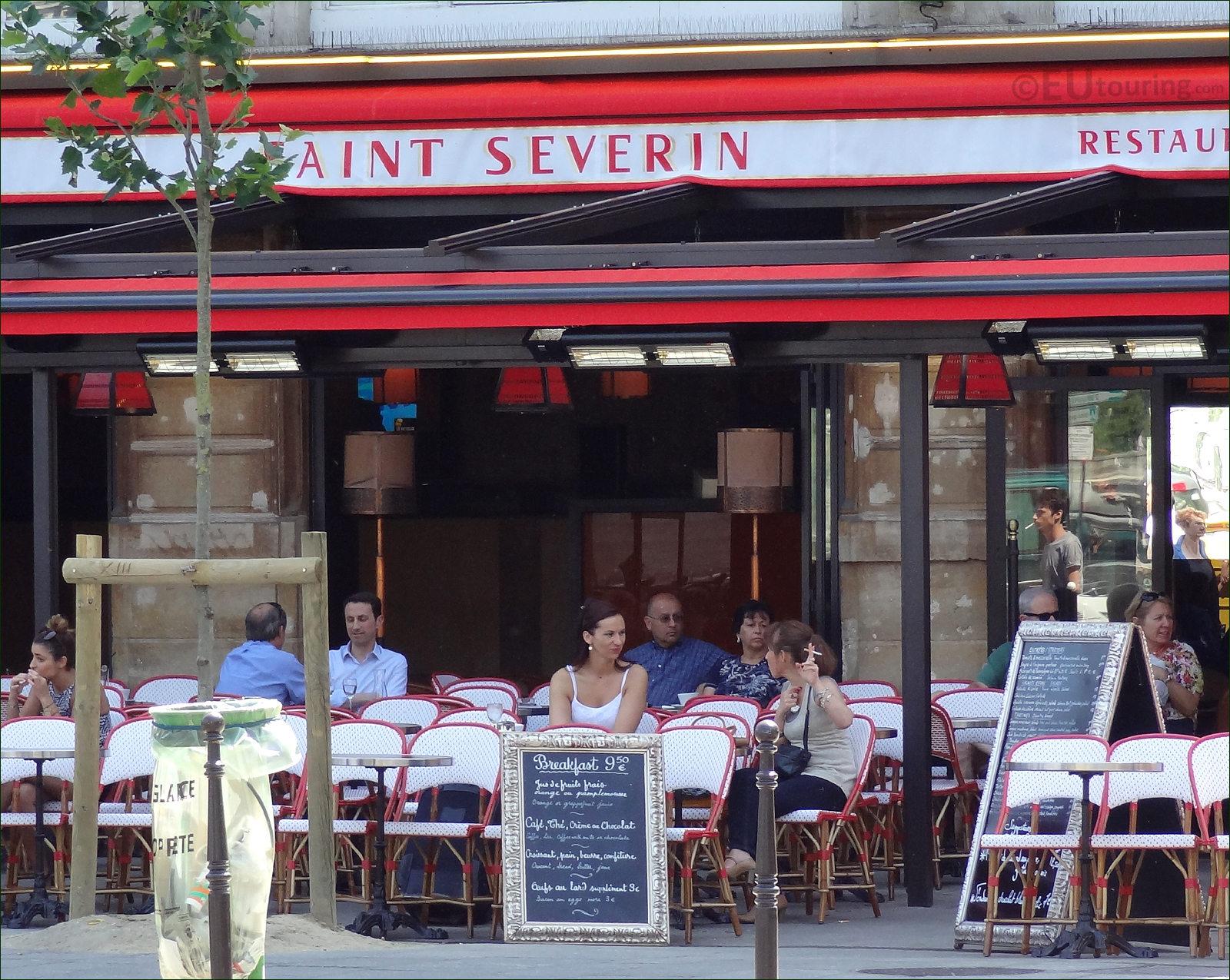 Cafe Saint Severin Saint Michel