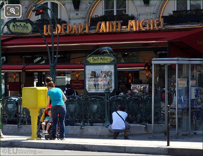 Photo Of Place Saint Michel Square In Paris
