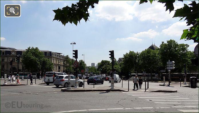 Place Valhubert Pedestrian Crossings