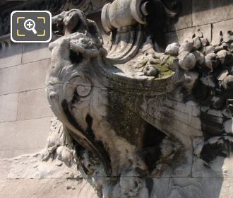 Stone Sculpture On The Pont Alexandre III